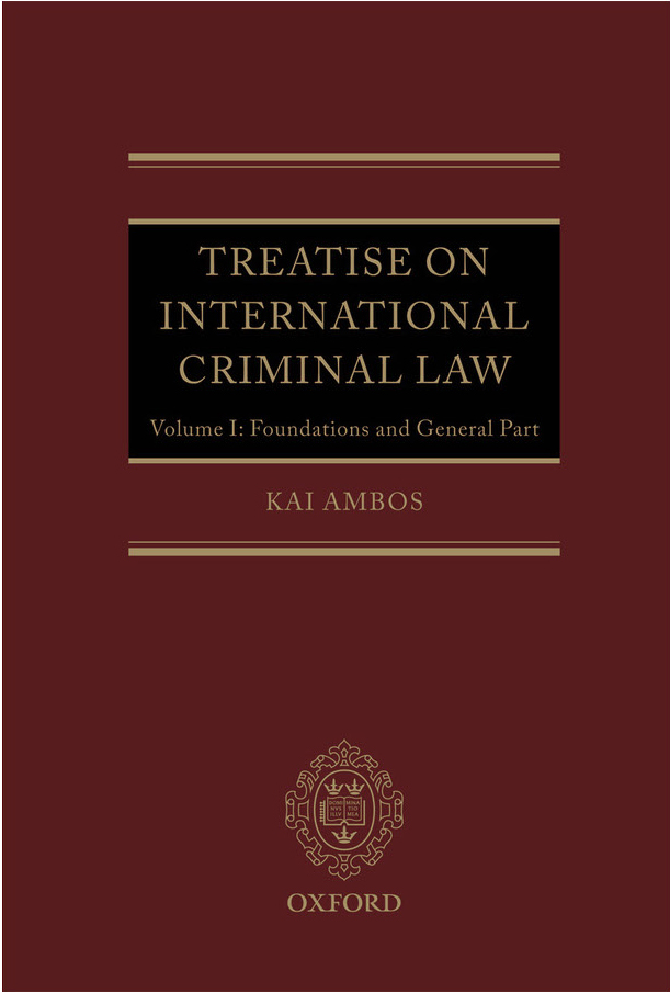 essays on international criminal law International criminal law and international criminal justice order description extend essay answer the following question: on 24 june 2014 counsel for charles.